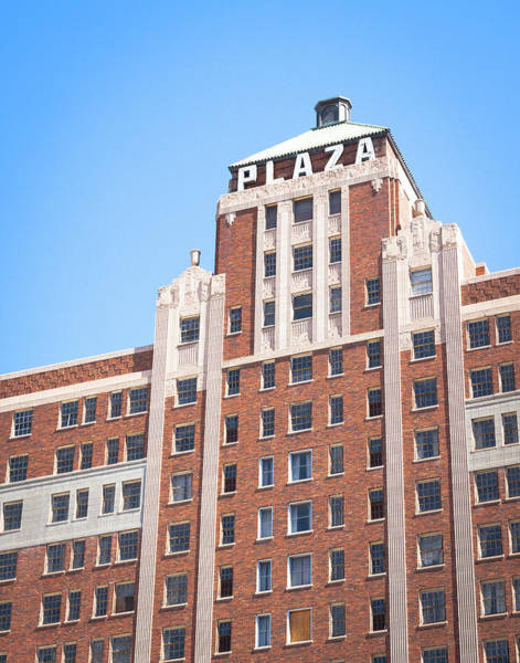Photograph - Plaza Hotel El Paso Texas by SR Green