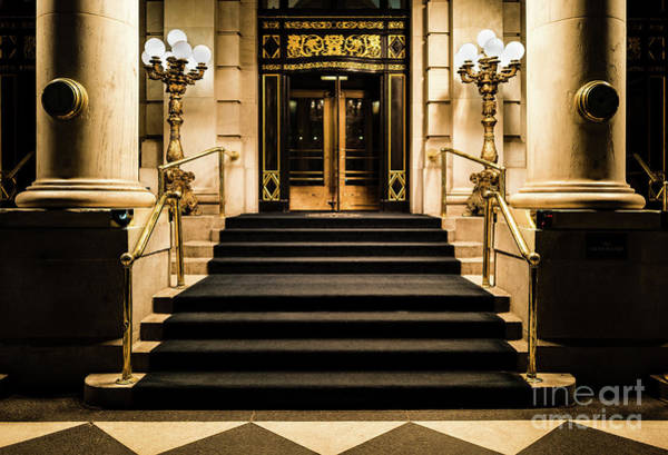 Photograph - Plaza Hotel Entrance by M G Whittingham
