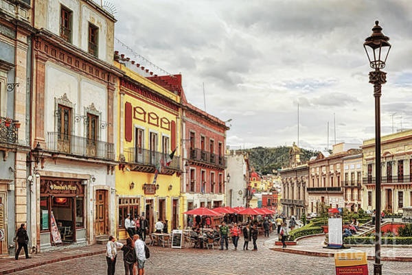 Photograph - Plaza La Paz, Guanajuato by Tatiana Travelways