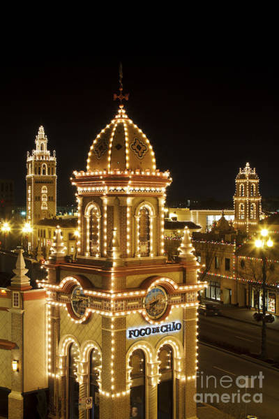 Country Club Plaza Photograph - Plaza Lights 2 by Dennis Hedberg