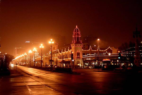 Photograph - Plaza Lights 47th Street 3 by David Dunham
