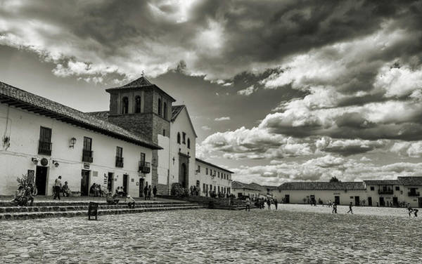 Boyaca Photograph - Plaza Principal by Michael Evans