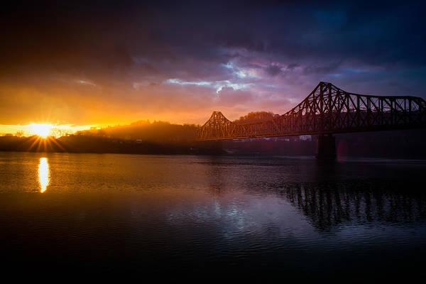 Photograph - Ple  Train Bridge 2 by Emmanuel Panagiotakis