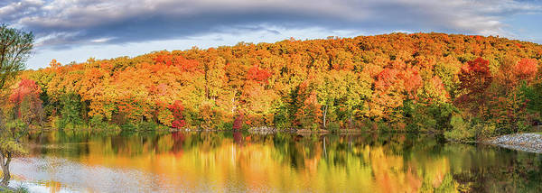 Vernon County Photograph - Pleasant Valley Lake In Autumn by John Prause
