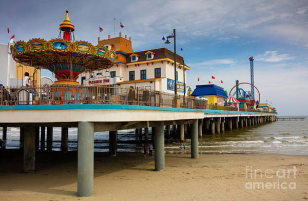 Wall Art - Photograph - Pleasure Pier by Inge Johnsson