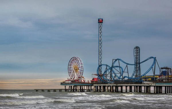 Photograph - Pleasure Pier by James Woody