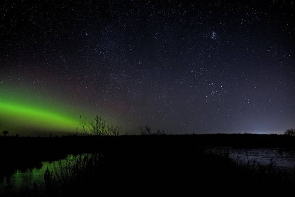 Photograph - Pleiades Over Antigo by Dale Kauzlaric