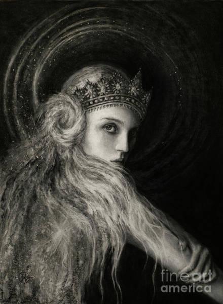 Pleiades Painting - Pleiadian Queen by Laura Krusemark
