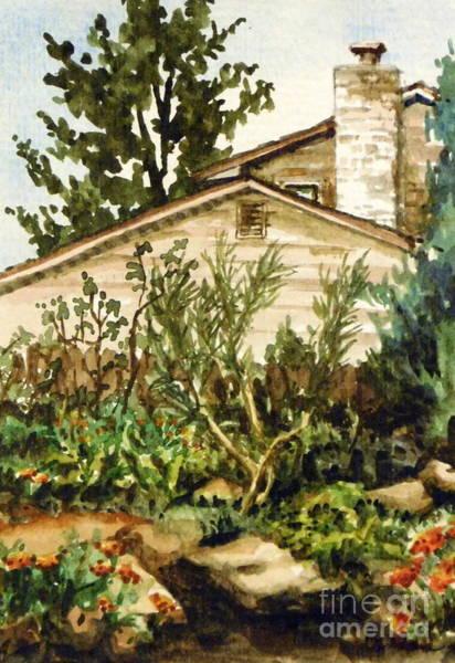 Arapahoe County Wall Art - Painting - Plein Air Summer - Maria's Garden by Cheryl Emerson Adams
