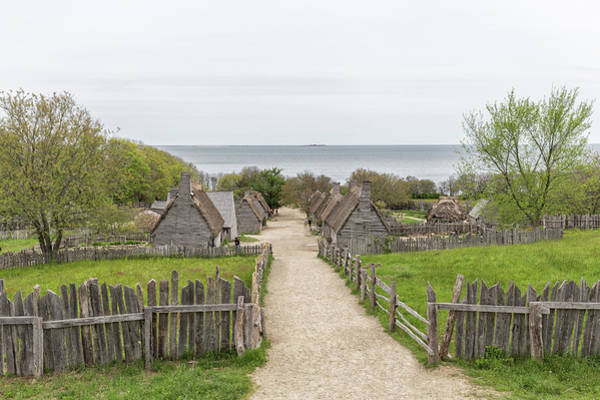 Photograph - Plimoth Plantation by Brian MacLean