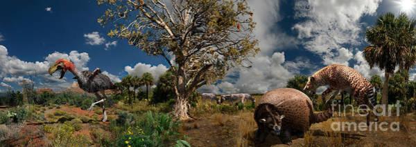Wall Art - Digital Art - Pliocene - Pleistocene Mural 1 by Julius Csotonyi