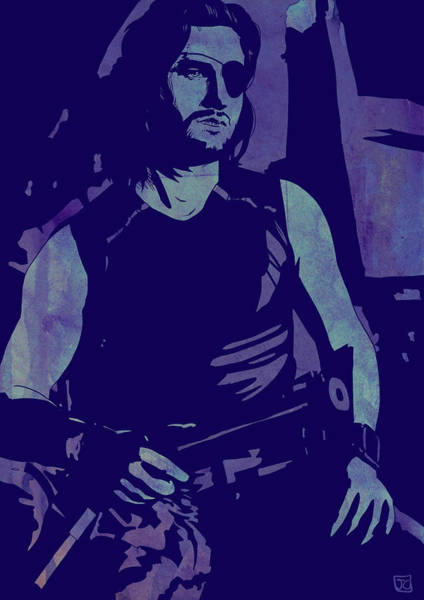 Homage Wall Art - Drawing - Plissken by Giuseppe Cristiano