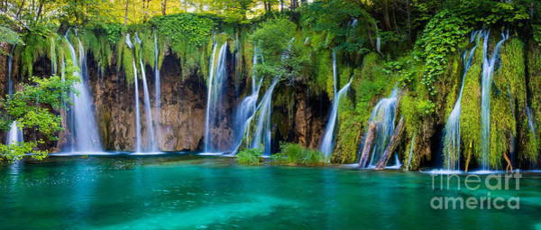 Wall Art - Photograph - Plitvice Panorama by Inge Johnsson
