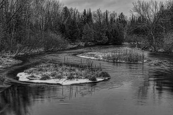Photograph - Plover River Cattail Islands by Dale Kauzlaric