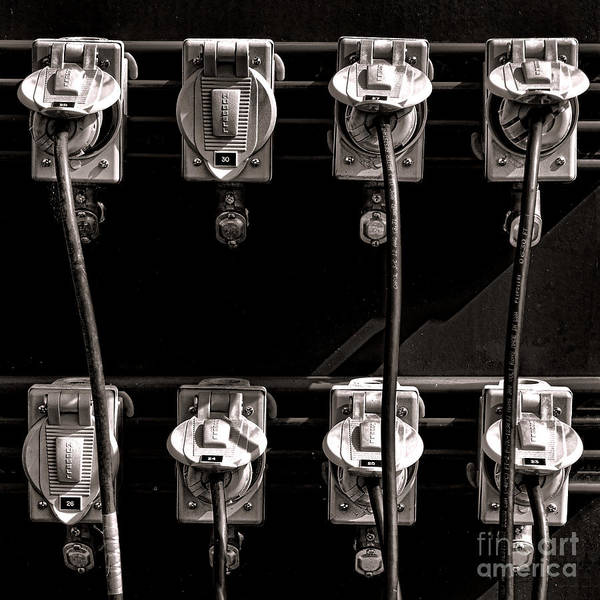 Photograph - Plugged In by Olivier Le Queinec