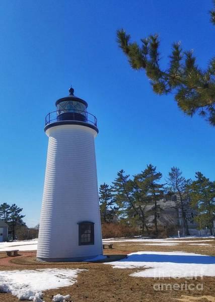 Photograph - Plum Island Lighthouse by Mary Capriole