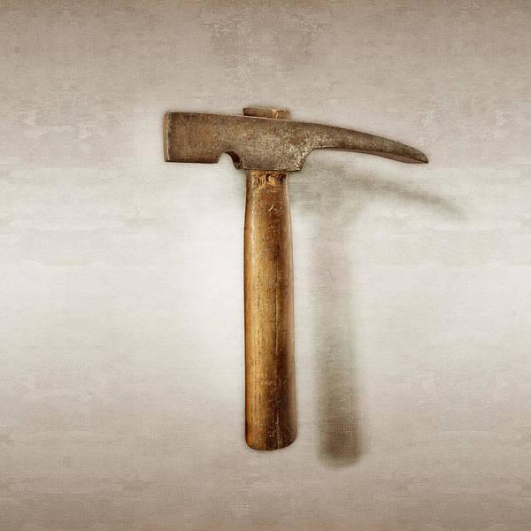 Hammer Wall Art - Photograph - Plumb Masonry Hammer by YoPedro