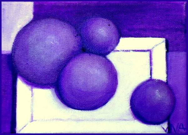 Painting - Plums by VIVA Anderson