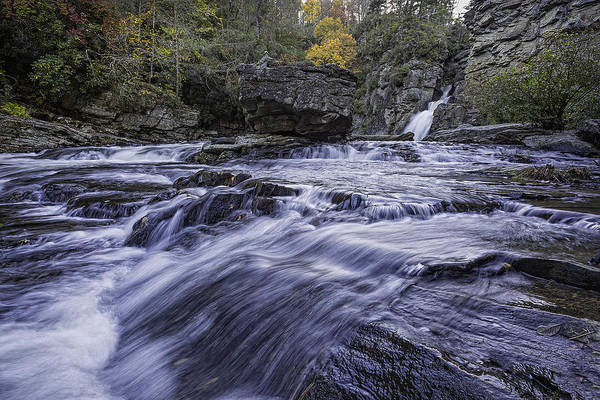Photograph - Plunge Basin Linville Falls by Ken Barrett