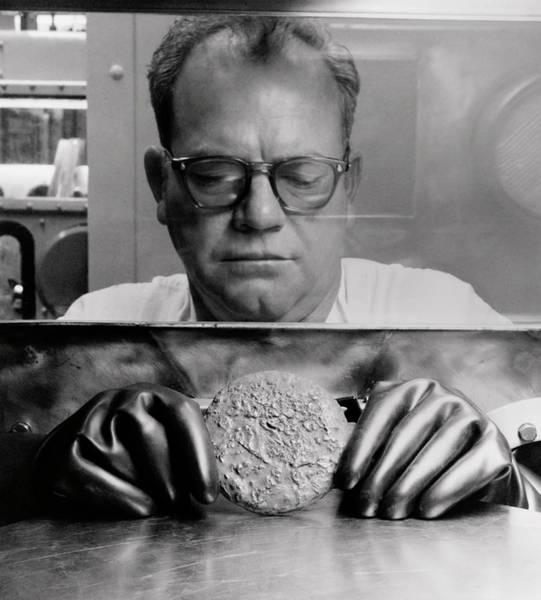 Half Life Photograph - Plutonium Button - Rocky Flats Production Facility by Daniel Hagerman