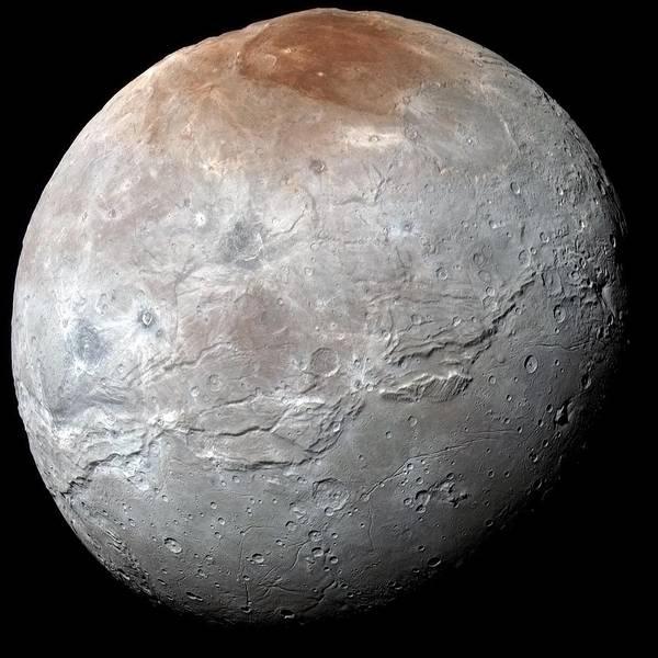Photograph - Plutos Moon Charon by Nasa