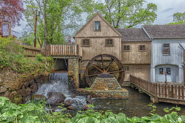 Photograph - Plymouth Grist Mill by Brian MacLean