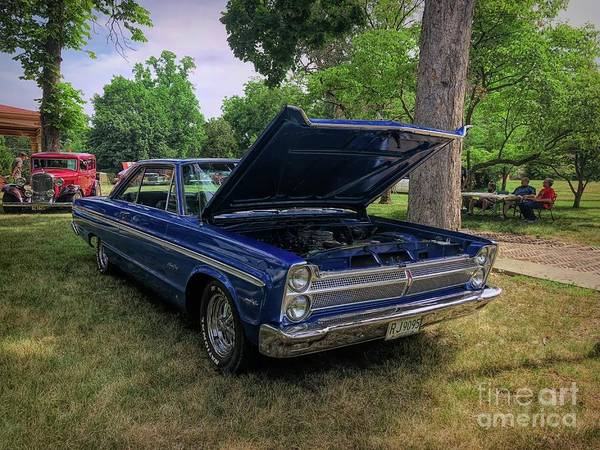Photograph - Plymouth Sport Fury 1966 by Luther Fine Art
