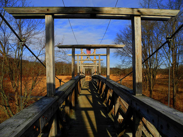 Photograph - Pochuck Boardwalk Bridge by Raymond Salani III
