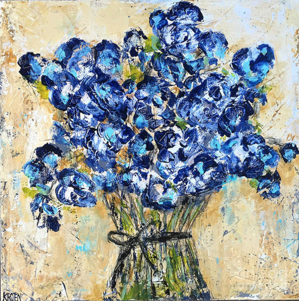 Wall Art - Painting - Pocket Full Of Posies by Kirsten Reed