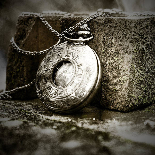 Photograph - Pocket Watch Sepia by Sharon Popek