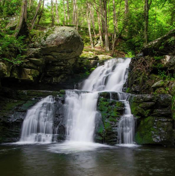 Photograph - Pocono Mountain Waterfall by Bill Cannon