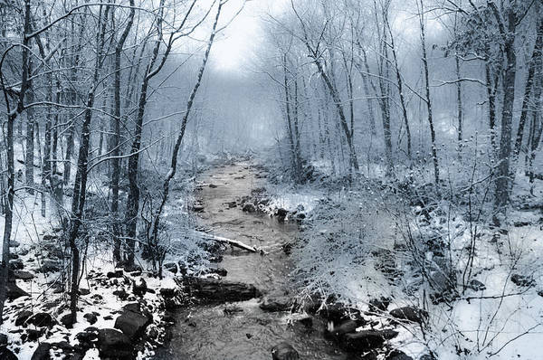 Poconos Wall Art - Photograph - Pocono Mountain Winter by Bill Cannon