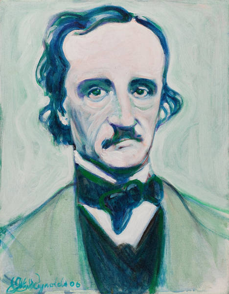 Painting - Poe by John Reynolds