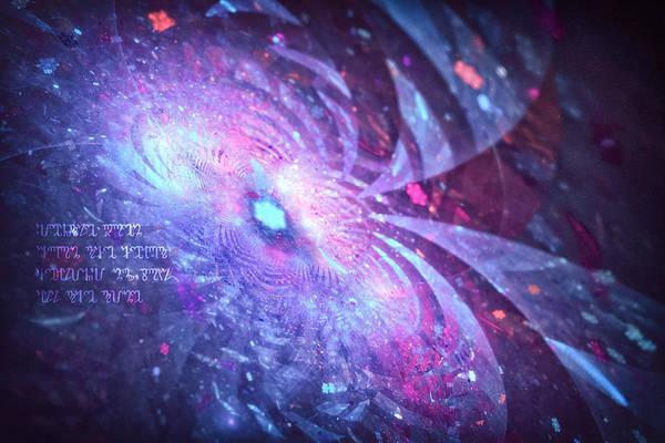 Digital Art - Poem by Michal Dunaj