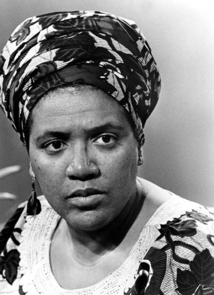 Wall Art - Photograph - Poet Audre Lorde In The 1970s by Everett