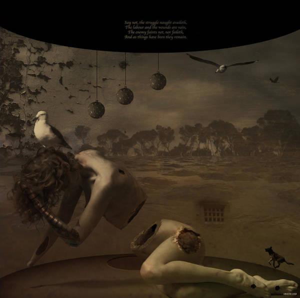 Bauble Digital Art - Poetry Of The Absolute by Peter Krause