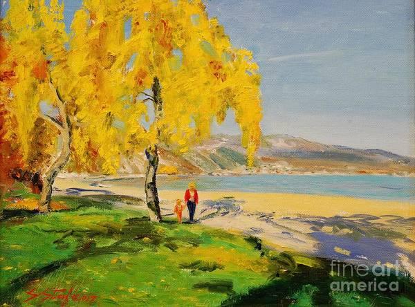 Painting - Pogradeci by Sefedin Stafa