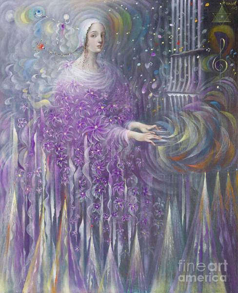 Wall Art - Painting - Poiesis IIi  Religion  by Annael Anelia Pavlova