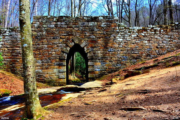 Wall Art - Photograph - Poinsett Bridge A Bridge To Nowhere by Lisa Wooten