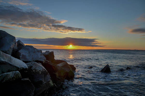Wall Art - Photograph - Point Allerton Sunrise - Hull Massachusetts by Bill Cannon