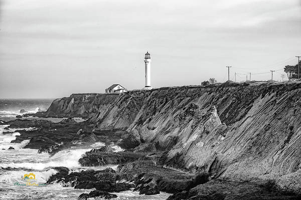 Photograph - Point Arena Lighthouse by Jim Thompson