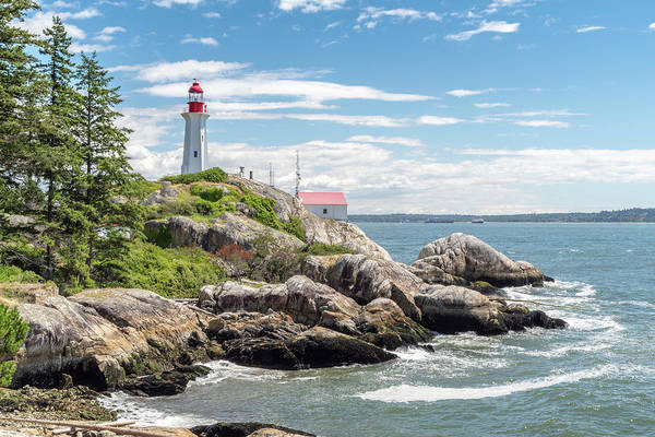 Photograph - Point Atkinson Lighthouse by Ross G Strachan