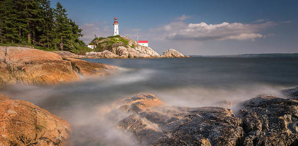 Photograph - Point Atkinson Lighthouse Sunset by Pierre Leclerc Photography