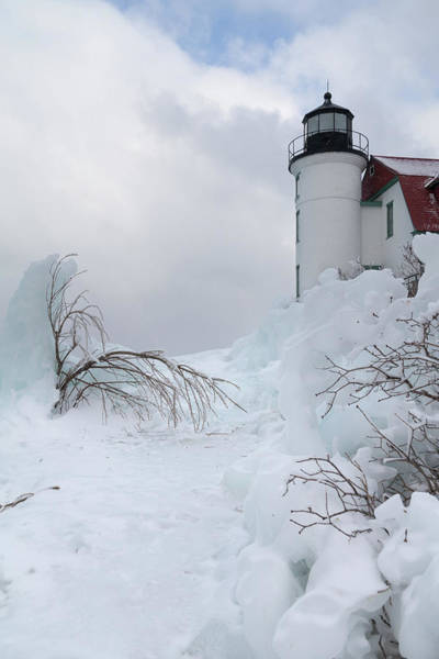 Photograph - Point Betsie Light by Fran Riley