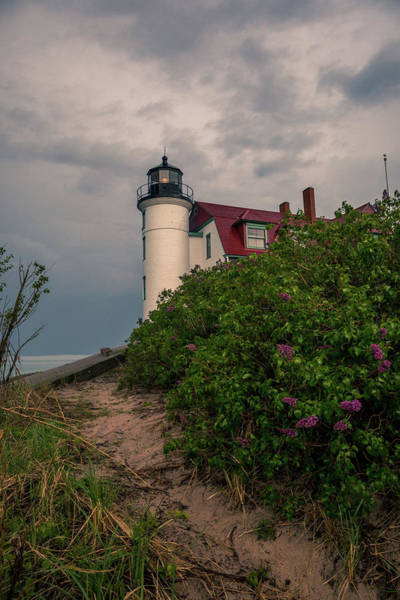 Photograph - Point Betsie Lighthouse by Dan Sproul