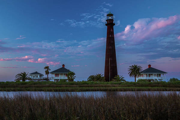 Wall Art - Photograph - Point Bolivar Light 5 by Tom Weisbrook