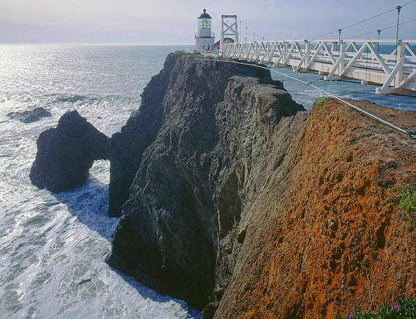 Photograph - 2a6143-point Bonita Lighthouse  by Ed  Cooper Photography