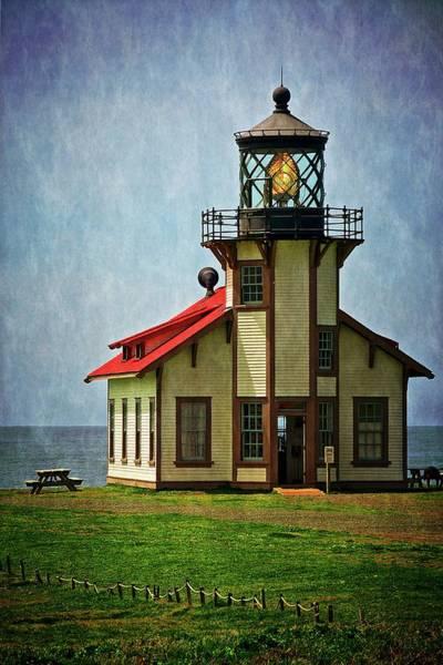 Photograph - Point Cabrillo Lighthouse, Casper, California by Flying Z Photography by Zayne Diamond