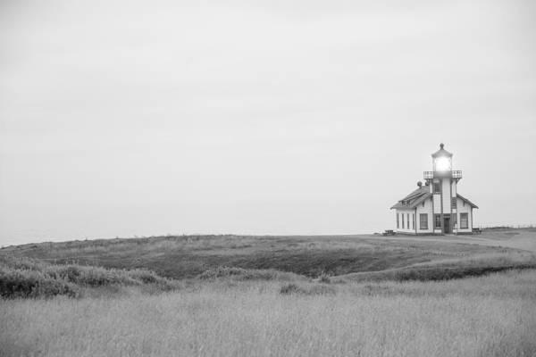 Cabrillo Photograph - Point Cabrillo Lighthouse by Ralf Kaiser