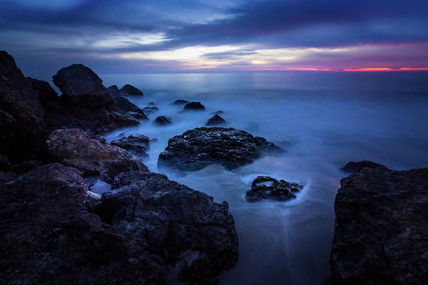 Point Dume Rock Formations Art Print